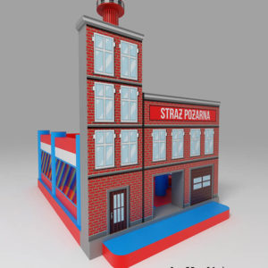 remiza strażacka plac zabaw